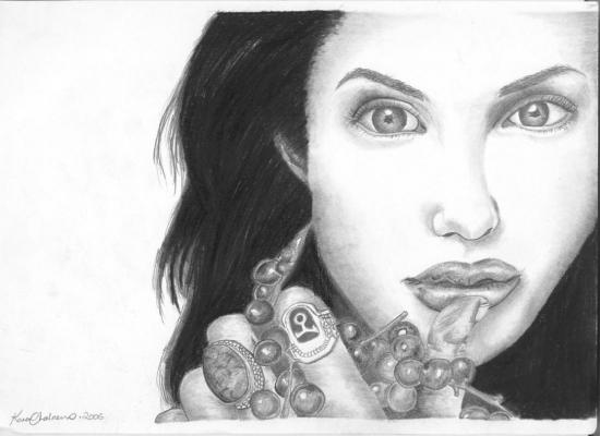 Angelina Jolie by kazzonline